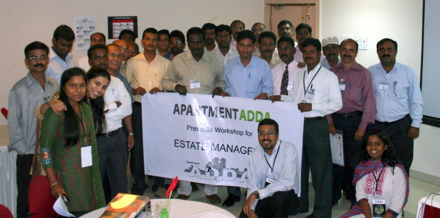 Estate Manager Workshop II concludes - ADDA BLOG