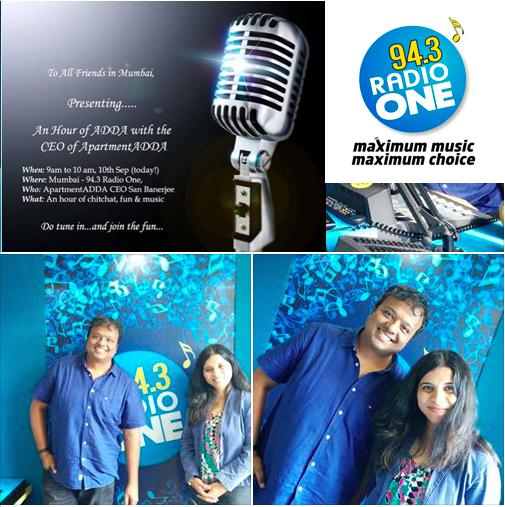 San Hrishikay RadioOne Pic collage