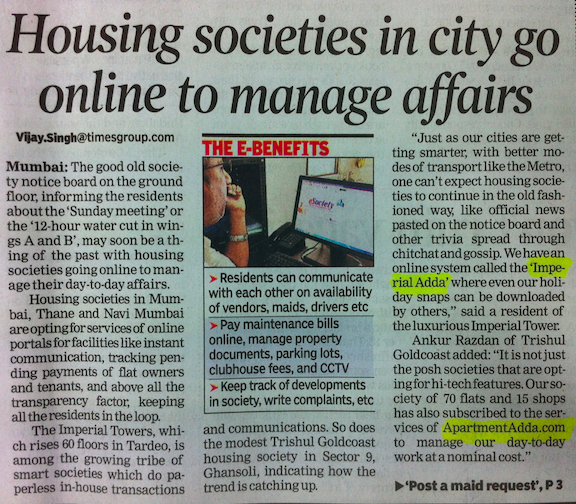 TOI Page 1