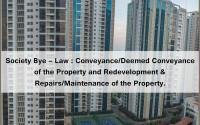 society, bye-law, redevelopment, conveyance, deemed conveyance