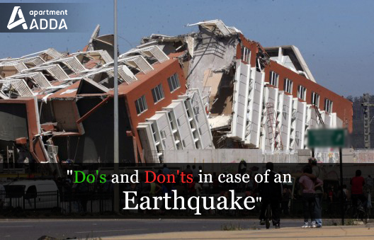 earthquake, precaution, do's, don'ts,