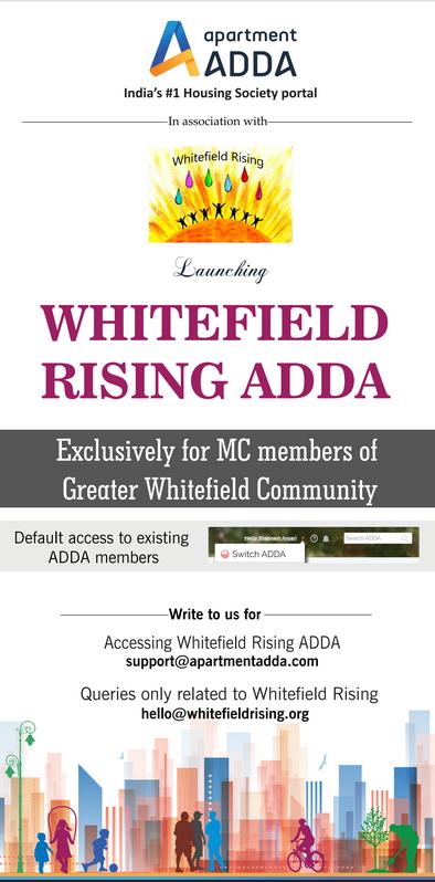 Whitefield Rising ADDA