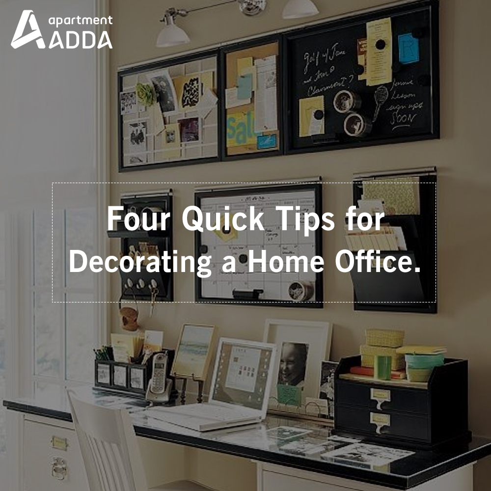 Tips For Redecorating Your Home Office: 4 Quick Tips For Decorating A Home Office