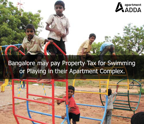Bangalore, bbmp, property tax, hike, common areas, apartment complex, management