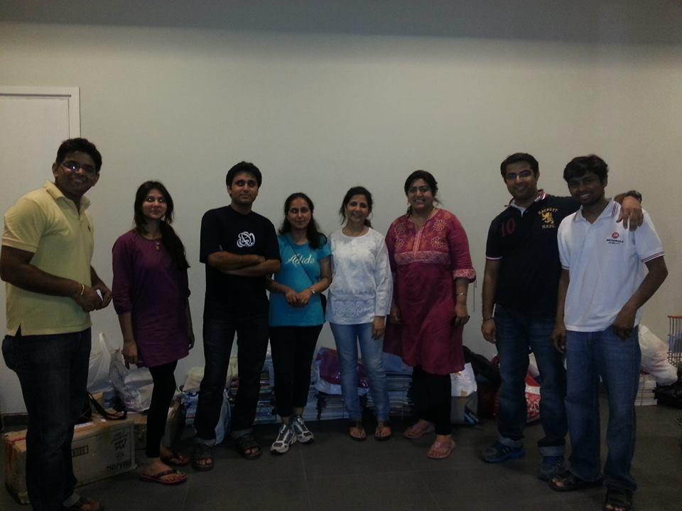 prestige shantiniketan, bangalore, equal sky, volunteers