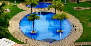 Most upscale apartment complexes today have beautiful swimming pools