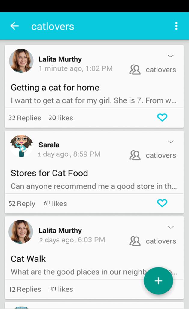 Cat Lovers ADDA app