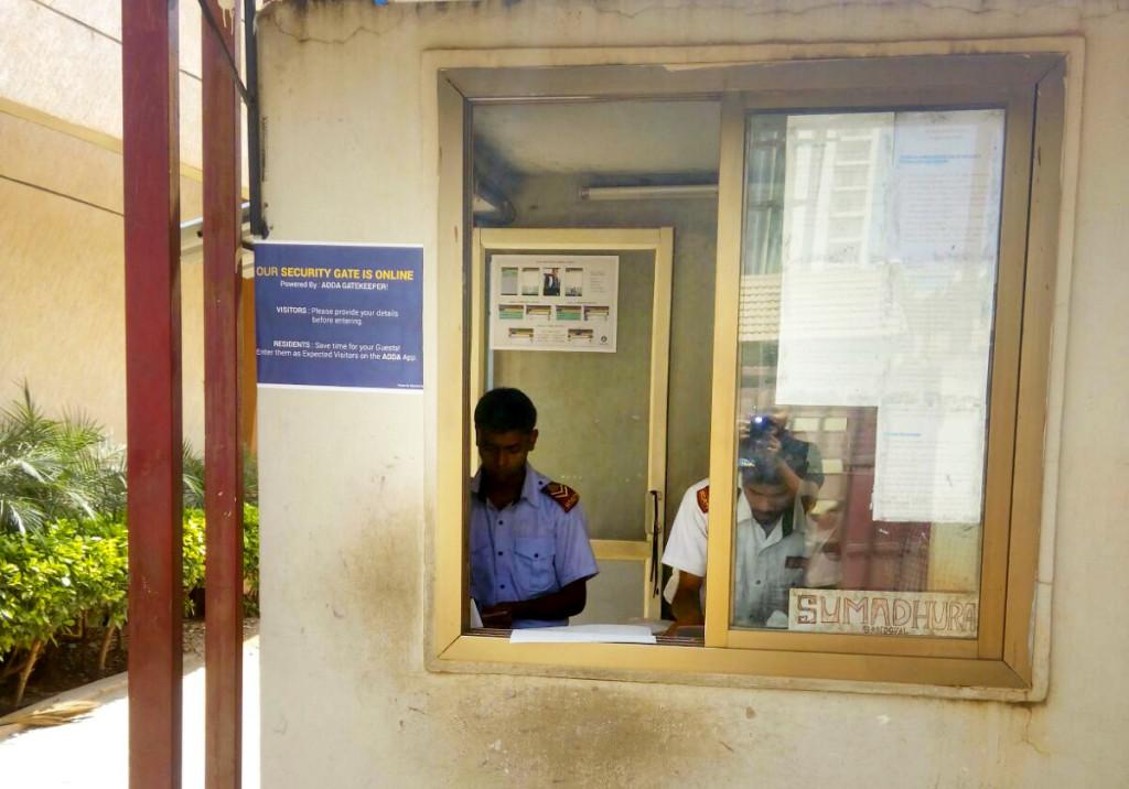 Gatekeeper App in Sumadhura Sandovil