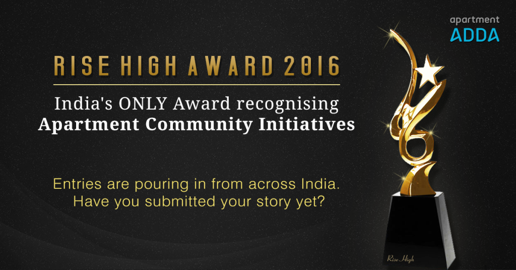 The only award in India recognizing community initiatives