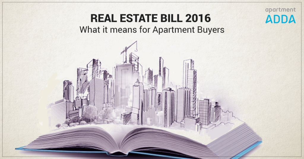 Real Estate Bill - RERA
