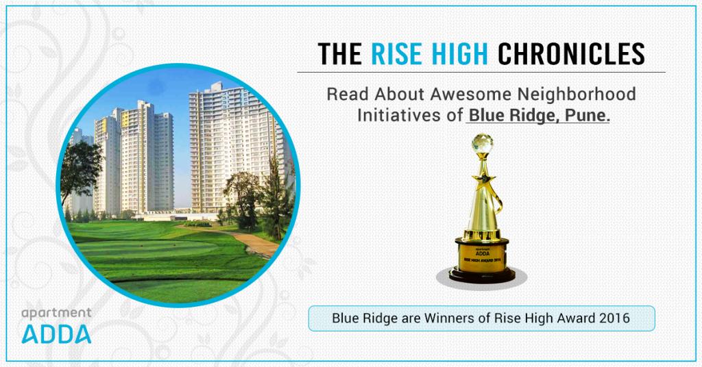 Blue Ridge Pune Apartment Neighborhood