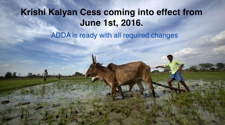Krishi Kalyan Cess on Service Tax