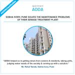 Sobha Ivory Pune using ADDA for neighborhood initiatives