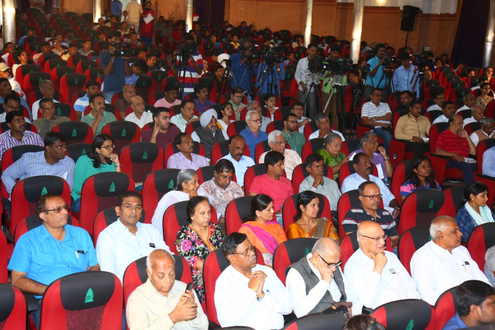 BBMP Audience in Demolition Drive Meeting