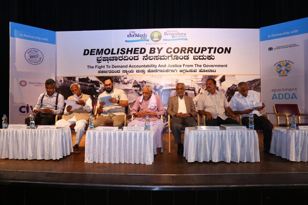 BBMP Demolition Drive Meeting