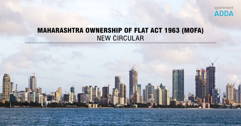 MOFA act - maharashtra ownership of flat act