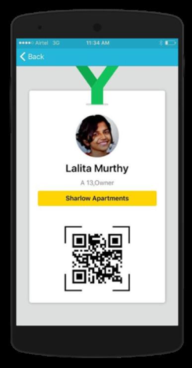 ADDA Gatekeeper app - Resident ID