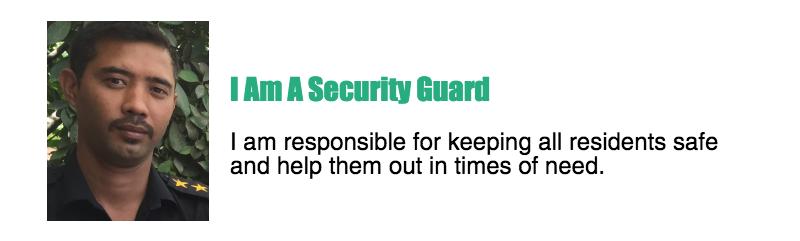 security guard gatekeeper