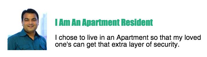 apartment resident gatekeeper