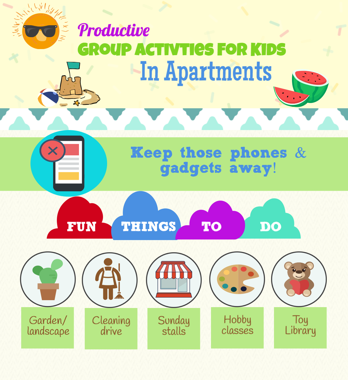 Kids Summer Community Activities