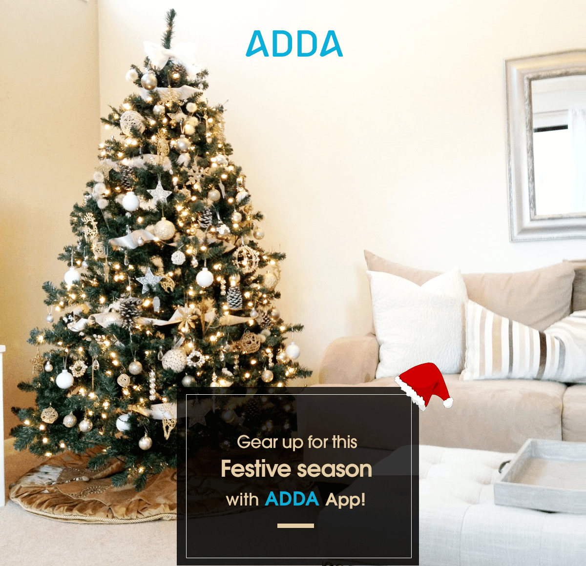 ADDA App - Christmas/New Year Genie