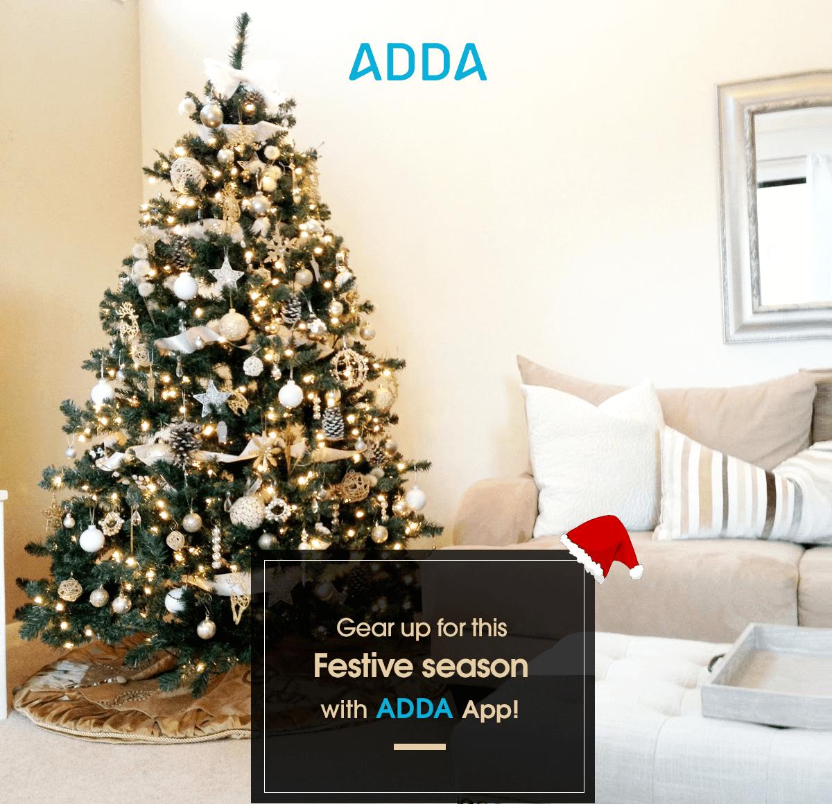 ADDA App - Christmas/New Year Genie