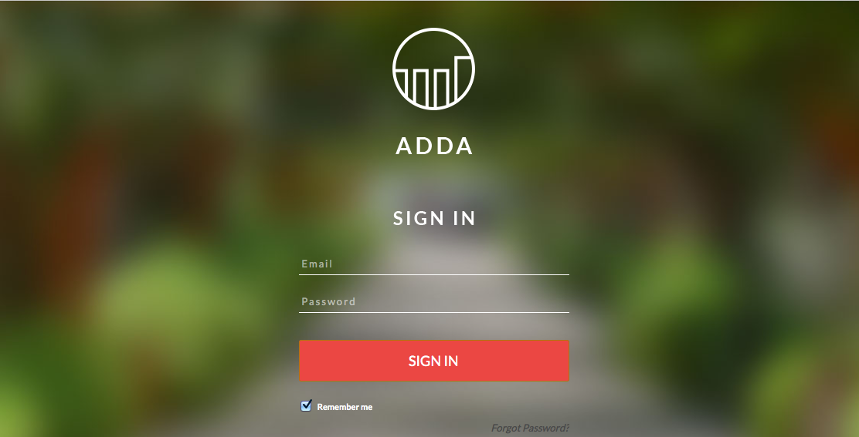 MyADDA - A Brand new UI for Apartment Residents - ADDA BLOG