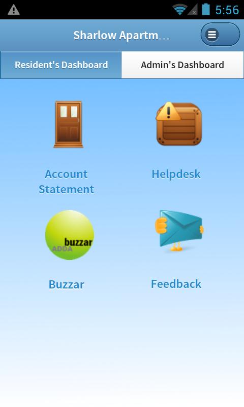 ADDA Society Accounting App - Admin Dashboard