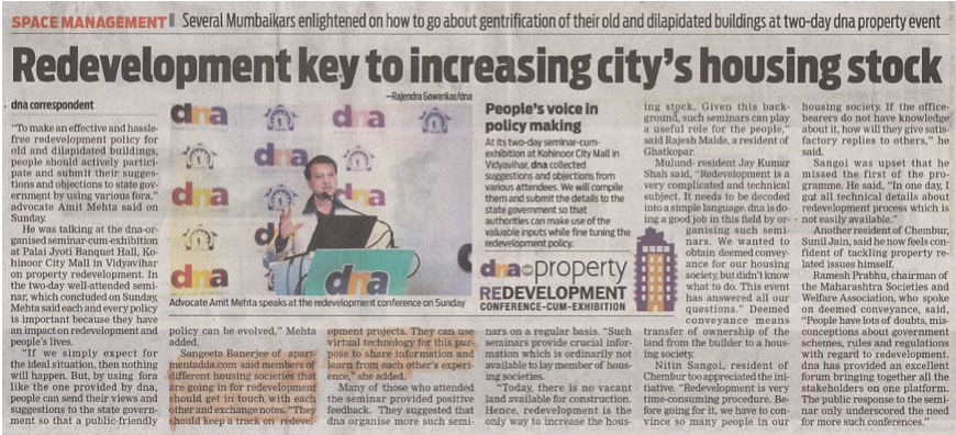 ADDA at Apartments Redevelopment